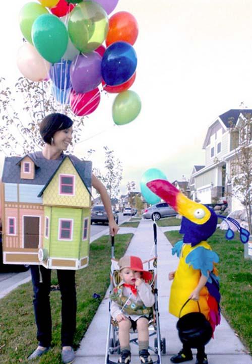 10 id es de costume pour se d guiser en famille pour halloween - Deguisement alice au pays des merveilles fait maison ...