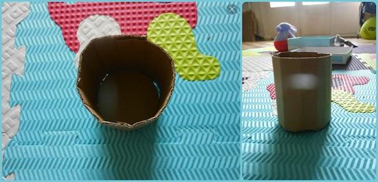 activit manuelle pour b b d corer un pot crayons papa panique. Black Bedroom Furniture Sets. Home Design Ideas